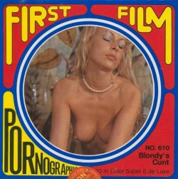 First Film Blondys Cunt