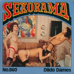 Sexorama Film 860 Dildo Dames poster
