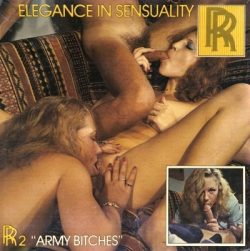 Roger Rimbaud Production Army Bitches poster