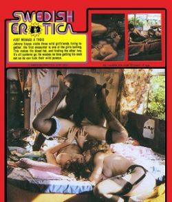 Swedish Erotica Menage A Trois small poster