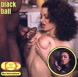 Joys Of Erotica Black Ball small poster