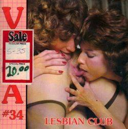 Viva 34 Lesbian Club poster