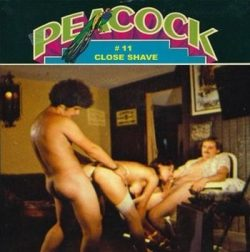 Peacock 11 Close Shave poster