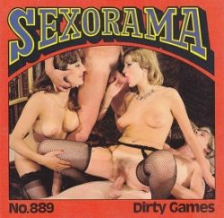 Sexorama Film Dirty Games small poster