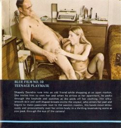 Blue Movie Film 10 Teenage Playmate poster