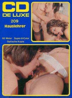 CD de Luxe 209 Hauslehrer poster