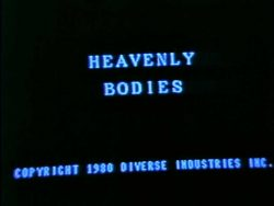 Diverse Industries Heavenly Bodies HD title screen