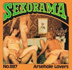 Sexorama Film Arsehole Lovers small poster
