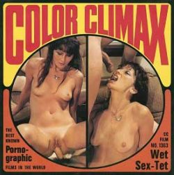 Color Climax Film 1363 Wet Sex Tet small poster