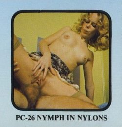 Platinum 26 Nymph in Nylons poster