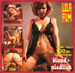 Lola Film 204 Blond Und Niedlich poster