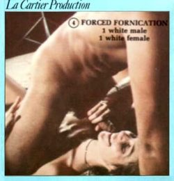 La Cartier 4 Forced Fornication poster