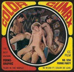 Color Climax Film 1256 Porno Party small poster
