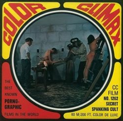 Color Climax Film 1262 Secret Spanking Cult small poster