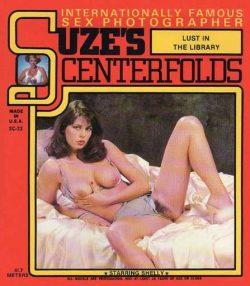 Suzes Centerfolds 23 Lust In The Library poster