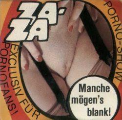 Za Za Manche Mogens Blank poster