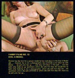 Fanny Films 13 Dial A Model poster