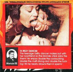 Satan 14 Belly Dancer poster