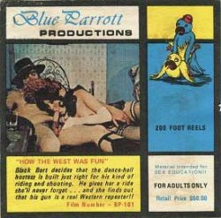 Blue Parrot 101 How The West Was Fun small poster