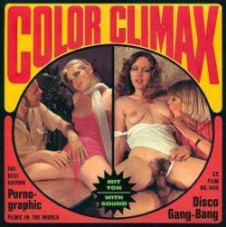 Color Climax Film 1435 Disco Gang Bang small poster