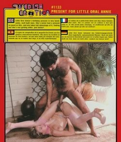 Swedish Erotica 1133 Present for Little Oral Annie small poster
