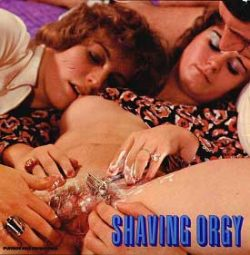 Playboy Production 1728 Shaving Orgy small poster