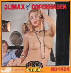 Climax Of Copenhagen 1404 Teen Ager Climax poster