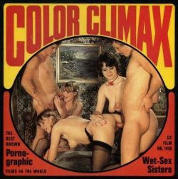 Color Climax Film 1436 Wet Sex Sisters poster