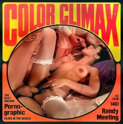 Color Climax Film 1461 Randy Meeting poster