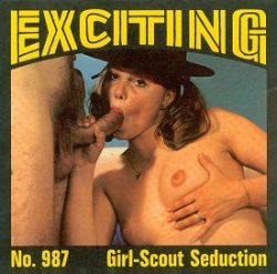 Exciting Film 987 Girl Scout Seduction small poster