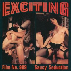 Exciting Film 989 Saucy Seduction poster
