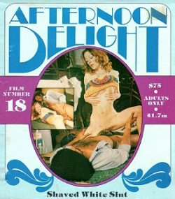 Afternoon Delight 18 Shaved White Slut small poster