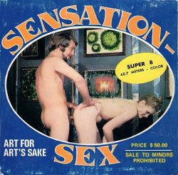 Sensation Sex 1 Art For Arts Sake poster