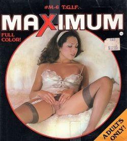 Maximum M 6 T G I F small poster
