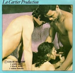La Cartier 3 Color My Cunt small poster