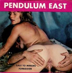 Pendulum East small poster