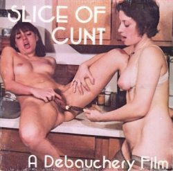 Debauchery Slice of Cunt poster