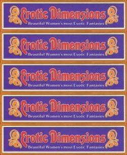Erotic Dimensions standard poster