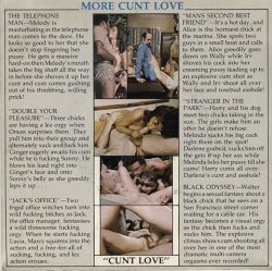 Cunt Love standard poster