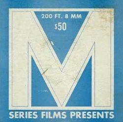M Series blue poster
