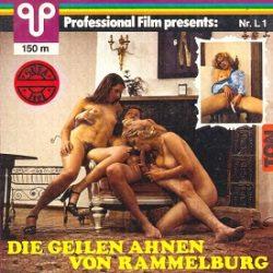 Profesional Film L1 Die Geilen Ahnen von Rammelburg small poster