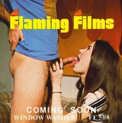 Flaming Film 508 Window Washer poster