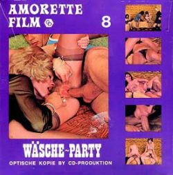 Amorette Film 8 Wasche Party poster