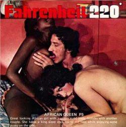 Fahrenheit African Queen small poster