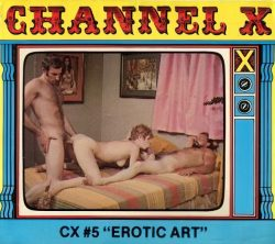 Channel X 5 Erotic Art poster
