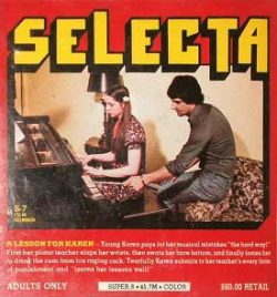 Selecta S7 A Lesson For Karen small poster