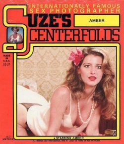 Suzes Centerfolds 22 Amber poster
