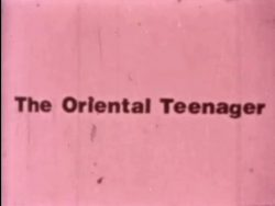 Open Thighs The Oriental Teenager poster