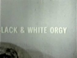 Black And White Orgy poster